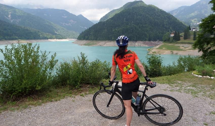 Sella Ciampigotto from Ampezzo - Italian Alps Cycling Climb