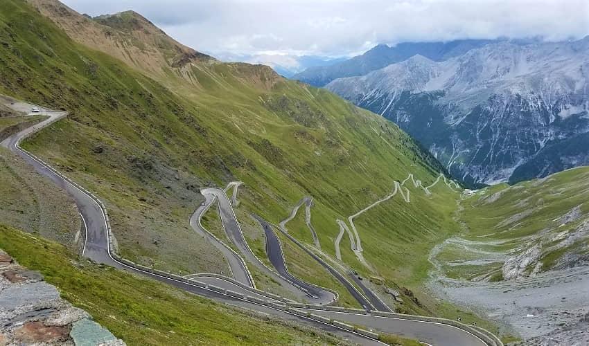Passo dello Stelvio from Prato - Italian Alps Cycling Climb