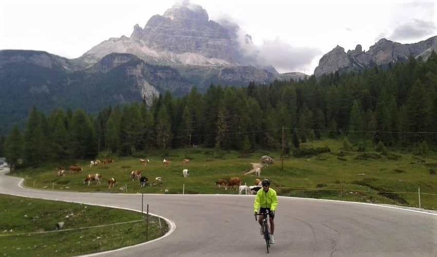 Tre Cime di Lavaredo from Misurina - Italian Alps Cycling Climb