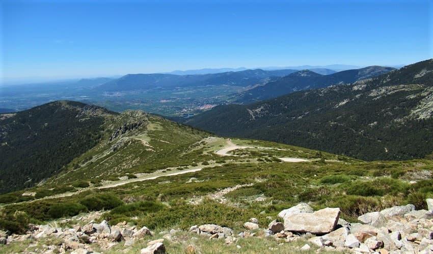 Puerto de Cotos from El Paular - Madrid Cycling Climb