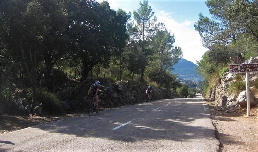 Top of the Coll de Femenia