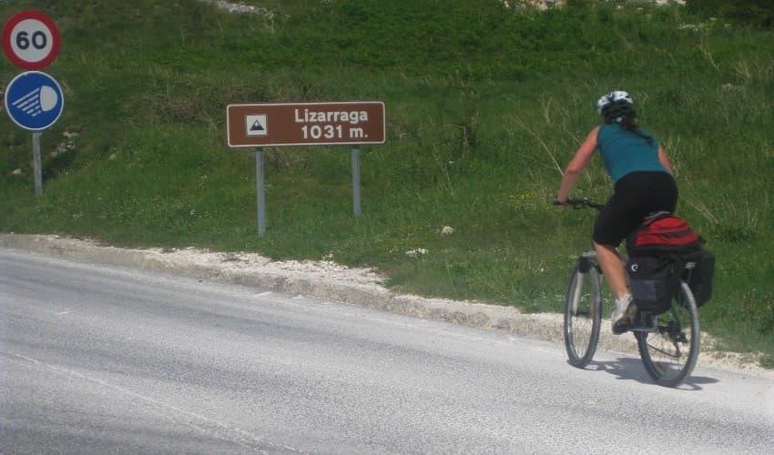 Lizarraga - Navarra Cycling Climb