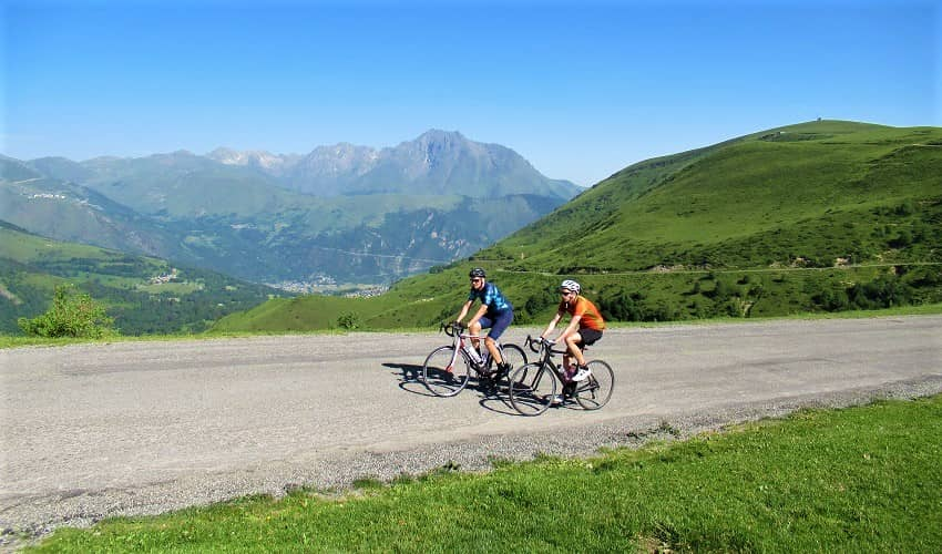 The top of Col d'Azet