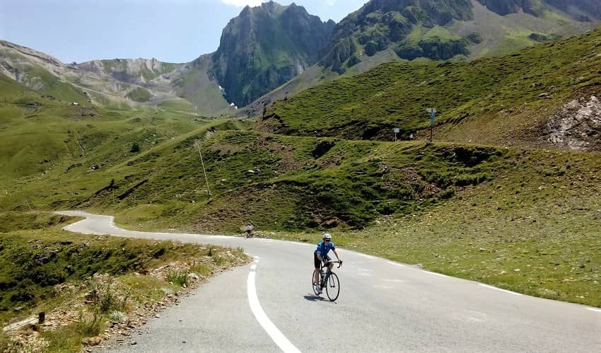 Col du Tourmalet Scenery