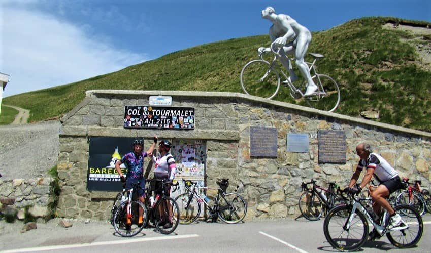 Top of Col du Tourmalet  (Pyrenees)