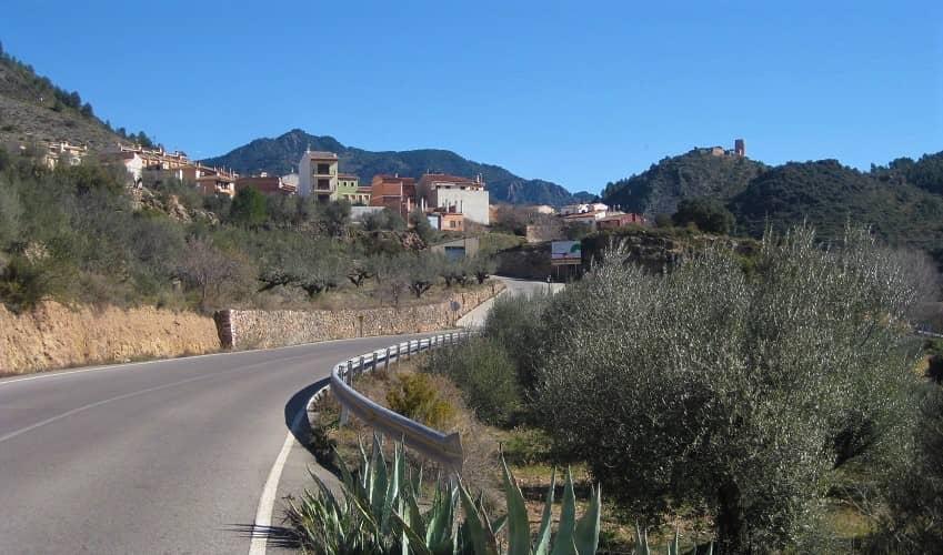 Puerto de Almedíjar from Almedíjar - Valencia Cycling Climb