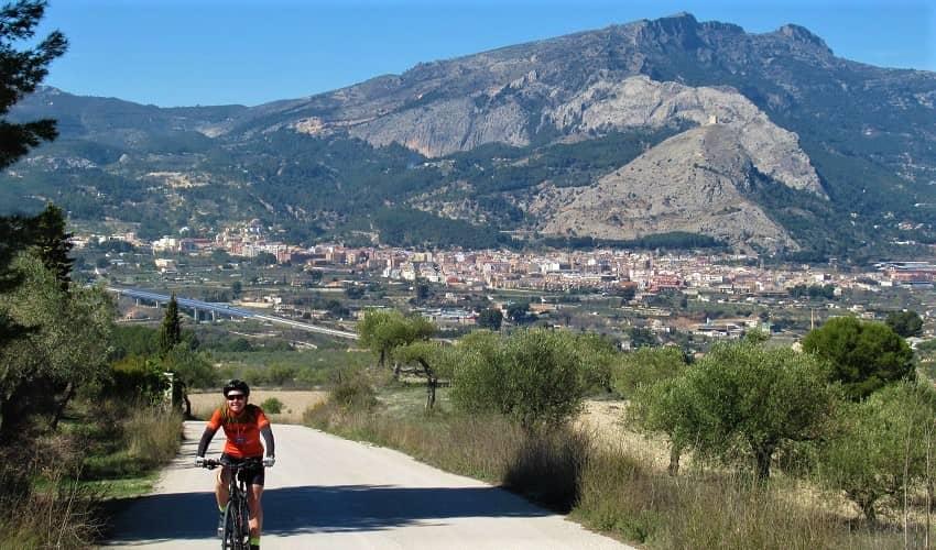Alto de Benillup from Cocentaina - Costa Blanca Cycling Climb