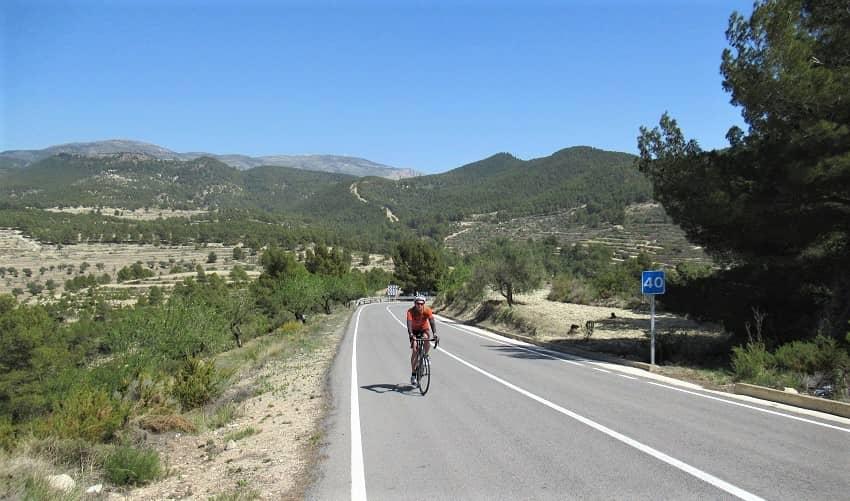Alto de Teix from Relleu - Costa Blanca Cycling Climb