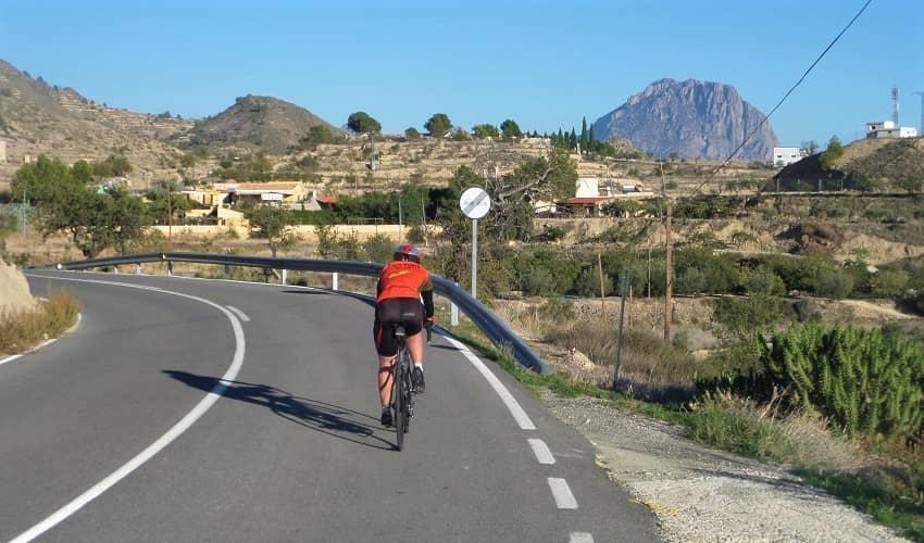 Alto del Tigre from Finestrat - Costa Blanca Cycling Climb