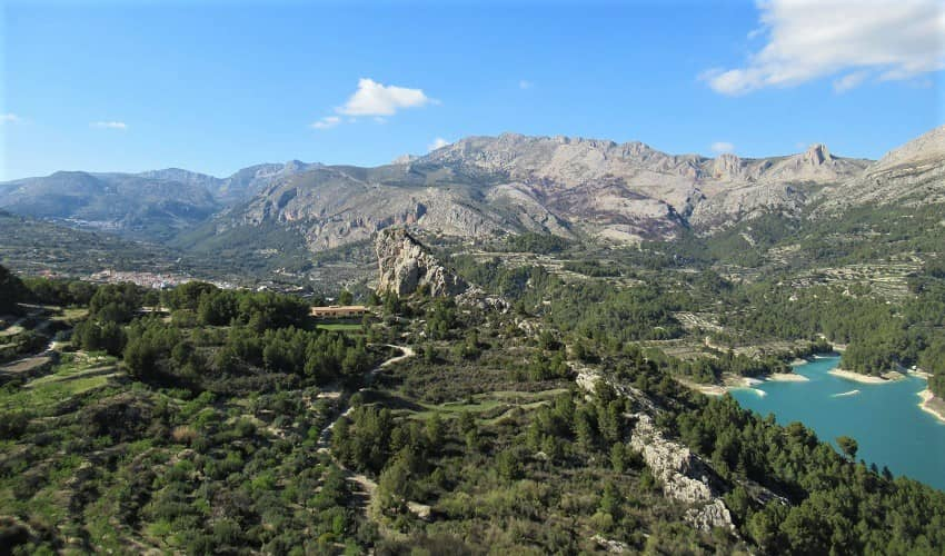Benimantell from Polop - Costa Blanca Cycling Climb