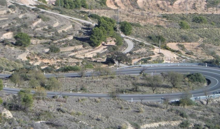 La Carrasqueta from Xixona - Costa Blanca Cycling Climb