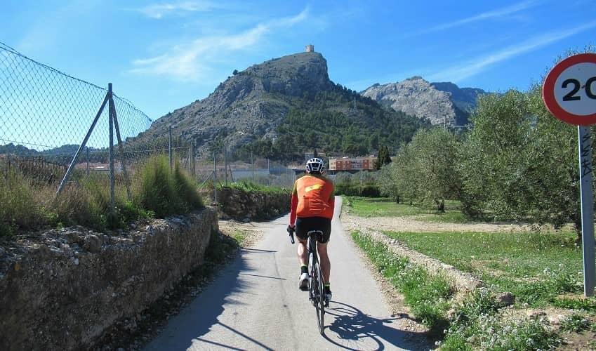Castell de Cocentaina - Costa Blanca Cycling Climb