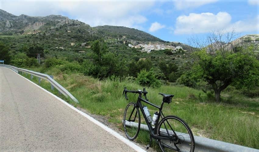 Port de Confrides from Callosa - Costa Blanca Cycling Climb