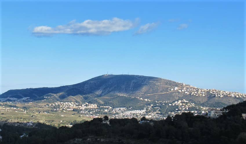 Cumbre del Sol from Alcasar