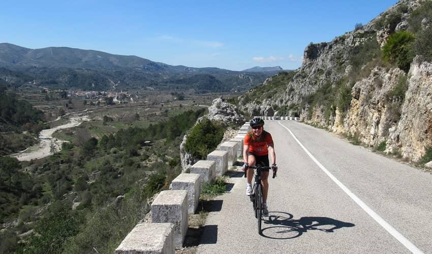 Port d'Ebo from Vall d'Ebo - Costa Blanca Cycling Climb