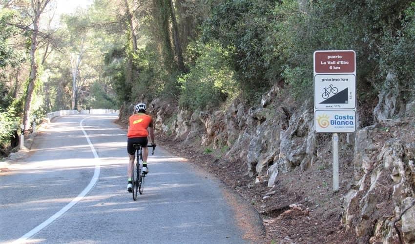 Port d'Ebo Cycling Signs