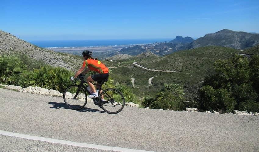 Port d'Ebo from Pego - Costa Blanca Cycling Climb
