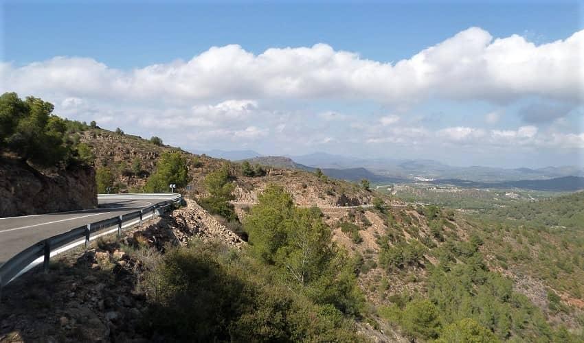 El Garbí from Tochar - Valencia Cycling Climb