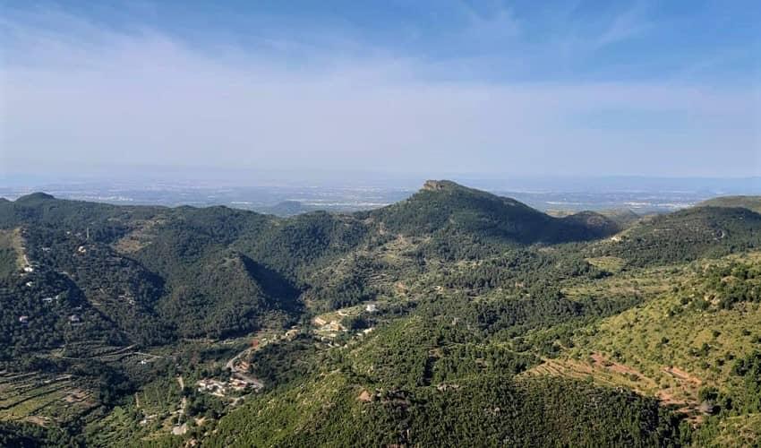El Garbí from Náquera - Valencia Cycling Climb