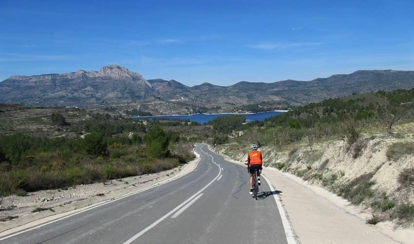 Alto de Margarida from Beniarrés Reservoir - Costa Blanca Cycling Climb