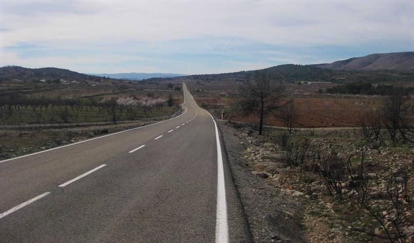Montmayor from Altura - Valencia Cycling Climb