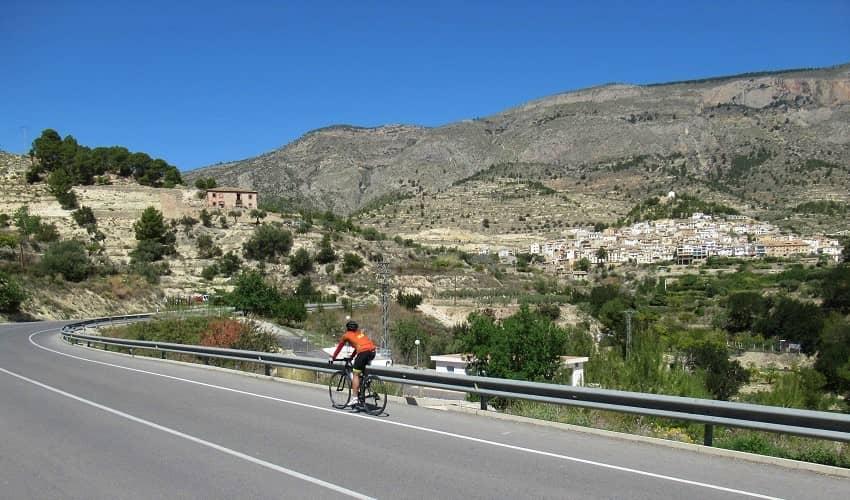 Peñon Divino from Villajoyosa - Costa Blanca Cycling Climb