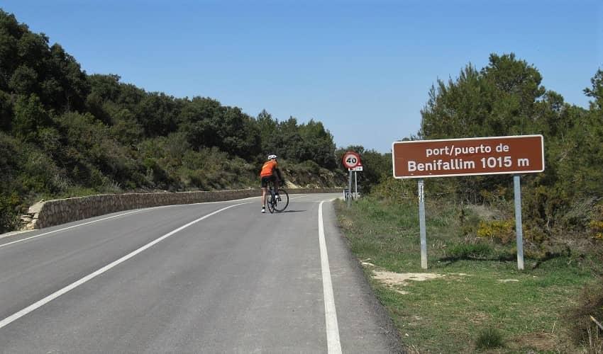 Port de Benifallim from Xixona - Costa Blanca Cycling Climb
