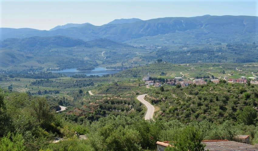 Port de Beniarrés from Beniarrés - Costa Blanca Cycling Climb