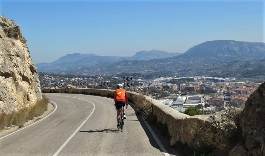 Preventori from Alcoy - Costa Blanca Cycling Climb