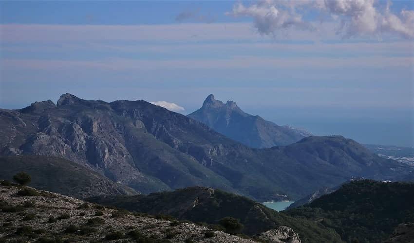Bernia (bis) from Altea la Vieja - Costa Blanca Cycling Climb
