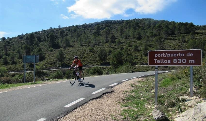 Alto de Tollos from Beniaia - Costa Blanca Cycling Climb