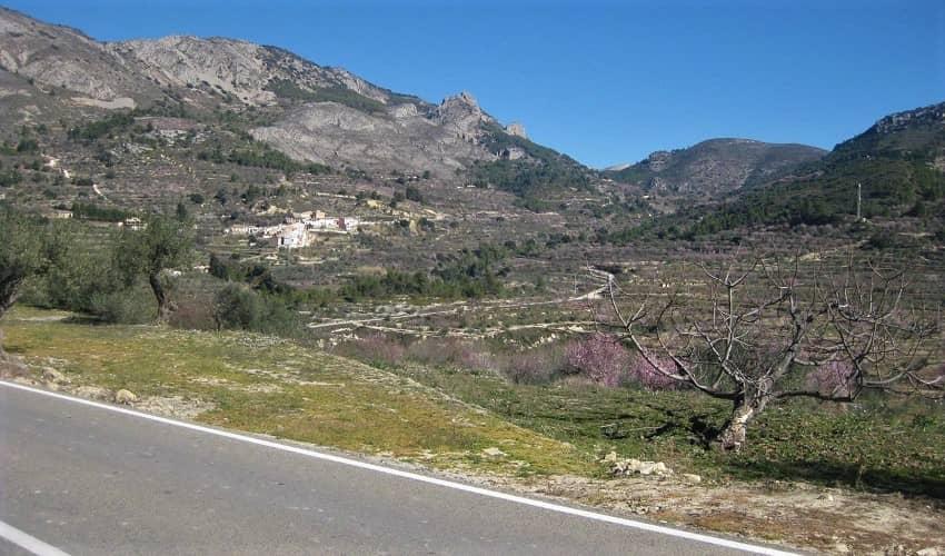 Port de Tudons from Alcoleja - Costa Blanca Cycling Climb